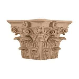 Roman Corinthian Capital for a 10 Square Non Tapered Wood Column
