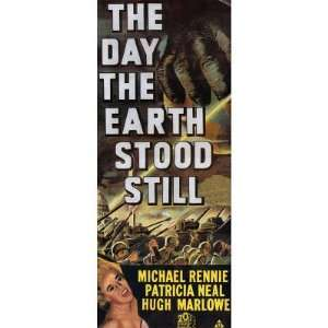 Day the Earth Stood Still (Vintage Sci Fi) Movie Poster