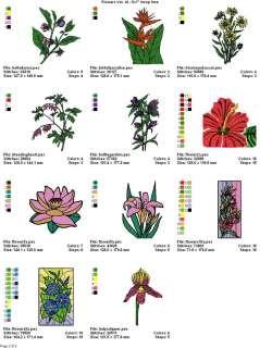 FLOWERS VOL. 16   5x7 HOOP