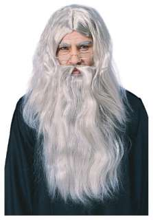 Harry Potter: Headmaster Albus Dumbledore Gray Wig with center part
