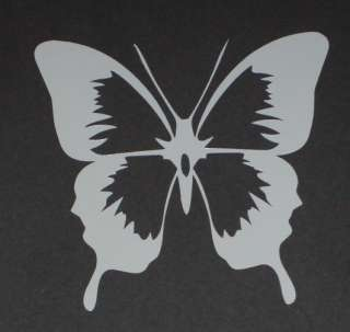 Butterfly 1 Vinyl Decal Sticker 3x3.3 Wall Decor