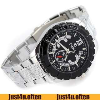 High Quality DATE Stainless Steel Mens Fashion Automatic Mechanical