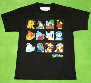 New Boy Youth Pokemon Boxes T Shirt Tee Size M L
