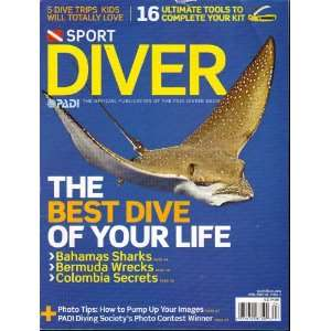 Sport Diver Magazine April 2010 Vol. 18 No. 3 Single Issue