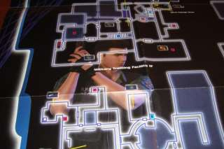 Resident Evil Code Veronica MAP Poster CIty CAPCOM RARE
