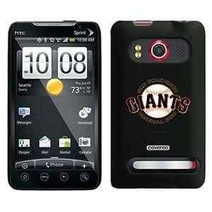 San Francisco Giants Baseball Club on HTC Evo 4G Case