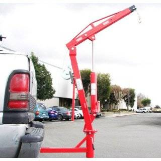 Truck Hydraulic Pwc Dock Jib Engine Hoist Crane Hitch Mount Lift