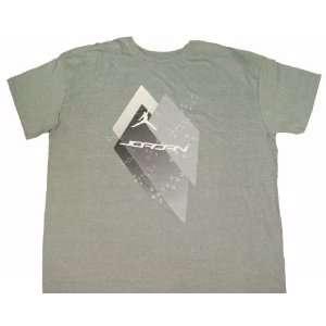 NIke Air Jordan Mens T Shirt Jump Man Gray XXXL Sports