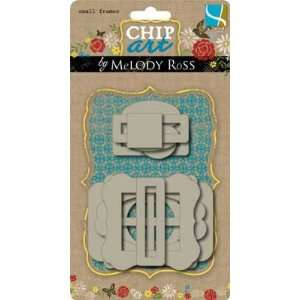 : Chip Art By Melody Ross Chipboard Shapes: Small Frames: Electronics