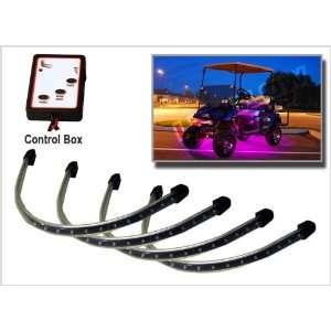 Pink LED Golf Cart Underbody Lighting Kit Automotive