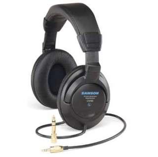 Samson CH700 Closed Back Studio Headphones: Musical