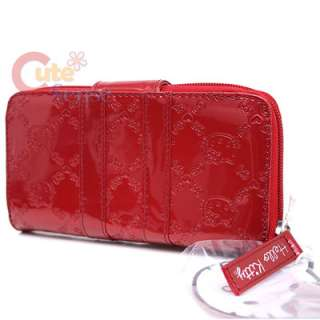 Sanrio Hello Kitty Red Embossed Wallet by Loungefly