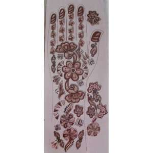 Heena Hand Decorative Tattoos Indian Style: Health & Personal Care