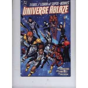 Ablaze (#1 of 4): Phil Jimenez and Tom McGraw Dan Jurgerns: Books