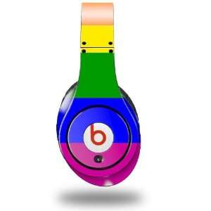 Rainbow Stripes Decal Style Skin (fits genuine Beats Studio Headphones