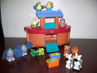 FISHER PRICE LITTLE PEOPLE NOAHS ARK ANIMALS NOAH WIFE5