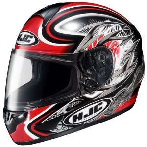 HJC CL 16 Hellion Full Face Motorcycle Helmet MC 1 Red Extra Large XL