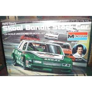 #2706 Monogram Harry Gants Skoal Bandit Stock Car 1/24