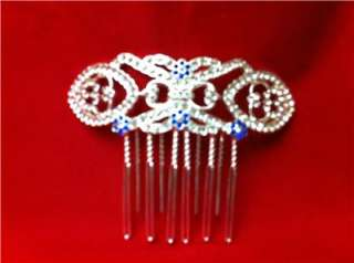 TWILIGHT BREAKING DAWN Bellas Bridal Wedding Veil Hair Comb in Velvet