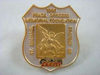 Law Enforcement 1993 Peace Officers Memorial Foundation St Michael