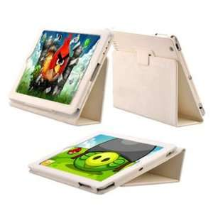 High Quality Magnetic Folding Stand Leather Case for iPad