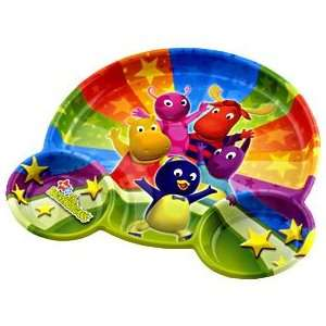 Backyardigans Plastic Divider Plate Sports & Outdoors