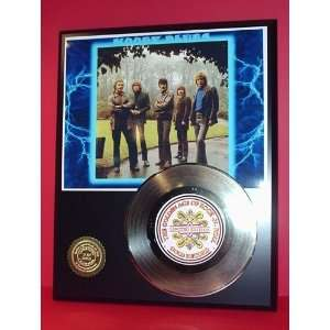 MOODY BLUES GOLD RECORD LIMITED EDITION DISPLAY