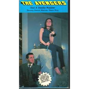 Deadly Number The Avengers Patrick Macnee, Diana Rigg Movies & TV