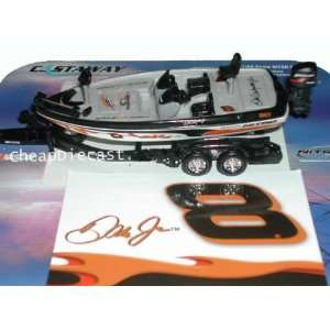 ACTION NASCAR DALE EARNHARDT JR DMP NITRO BASS BOAT #8 Toys & Games