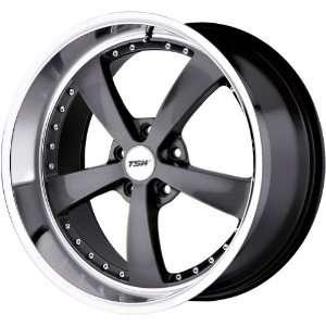 TSW Alloy Wheels Strip Gunmetal Wheel with Machined Lip (19x8/5x120mm
