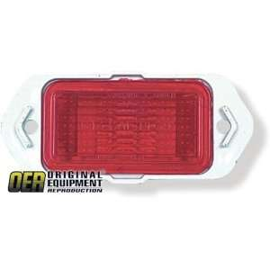 Chevy Camaro/Chevelle Side Marker Lens   Rear, Red, 1pc (RHLH) 69