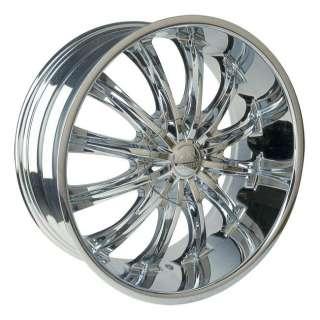 Wheel + Tire Packages 28 inch Triple chrome rims B15