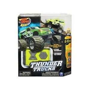 Air Hogs Xs Motors Thunder Trucks Box Truck Green Toys