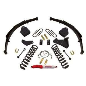 Suspension Lift Kit with Rear Springs for 2008 F350 Ford 4 WD (Diesel