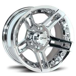 Fairway Alloys FA118 Edge Chrome Golf Cart Wheel (12x6.5