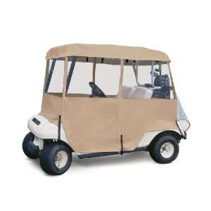 Classic Accessories Fairway Deluxe 4 sided Golf Car Enclosure (fits