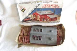 Vintage Revell Operating Engine House Kit 1960s HO ~ Good Parts