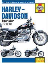 Harley Davidson Sportster Shop / Service / Repair Manual 1970 2010