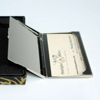 MOP Business Credit Name Card Holder Case Key Chain Ring Letter Opener