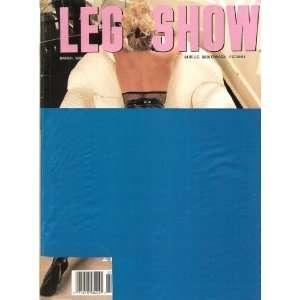 LEG SHOW 3/90 (MARCH 1990): LEG SHOW MAGAZINE: Books