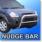 Toyota RAV4 BLACK Bull Bar Push Nudge Brush Grill Guard (Fits RAV4)