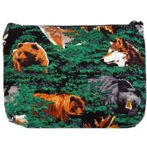 Wolf Bear Deer Outdoors Theme Clutch by Broad Bay: Sports