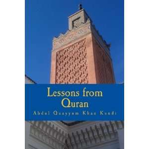 Lessons from Quran: Living a life in the light of Quran