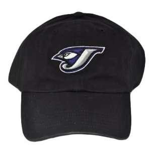 MLB GARMENT WASH TORONTO BLUE JAYS HAT CAP COTTON BLACK