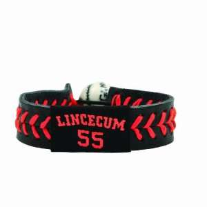 MLB Tim Lincecum Team Color Jersey Bracelet Sports