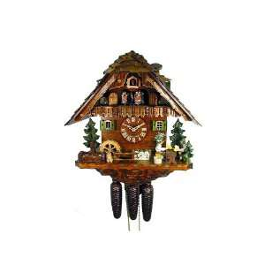 Cuckoo Clock Black Forest House, 2 Beer Drinkers