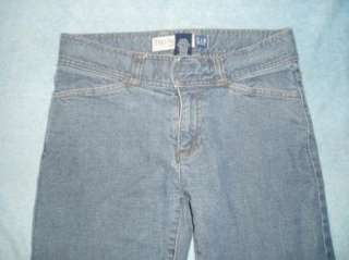 GAP misses 2 stretch HIP HUGGER boot cut jeans 28x30