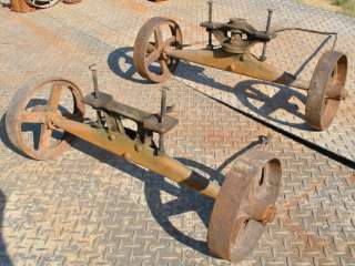 Original John Deere 1 1/2 HP Model E Hit Miss Gas Engine Trucks