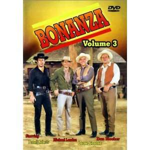 Bonanza Volume 3 (0872322000781) Lorne Green, Micheal Landon Books