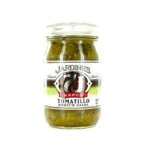 Jardines, Salsa, Med, Tomatillo, 6/16 Oz  Grocery